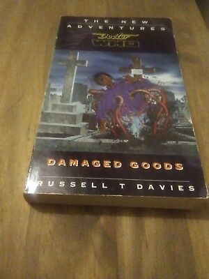 Doctor Who Damaged Goods Virgin NA Paperback Book By Russell T Davies
