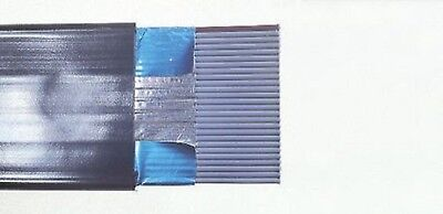 SCREENED 26 Way IDC FLAT RIBBON CABLE 1.27mm pitch (per metre) NOS (RS 368-378)