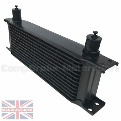 Universal13 Row An10 An-10 10An Engine Transmission Oil Cooler [Radiator] Black