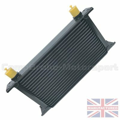 Universal19 Row An10 An-10 10An Engine Transmission Oil Cooler [Radiator] Black