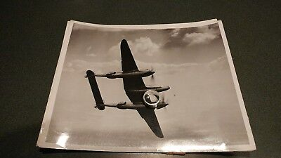 Early 1940s p38 test lightning fighter pursuit aircraft photo usaac experimental