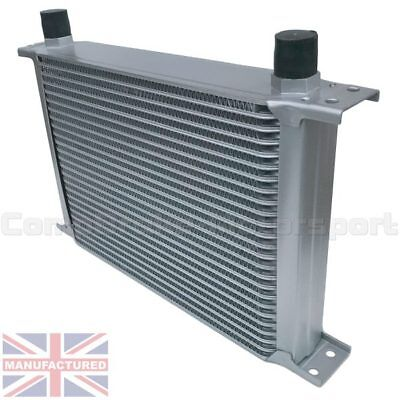 Universal 25 Row An10 An-10 10An Engine Transmission Oil Cooler [Radiator]Silver