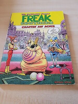 The Fabulous Fury Freak Brothers In Chaoten Auf Achse
