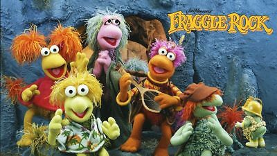 Fraggle Rock Red Gobo Muppets 80's TV Sticker or Magnet