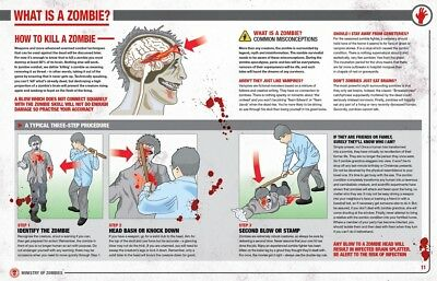 Zombie Survival Manual:The Complete Guide to Surviving a Zombie Attack,Hardcover