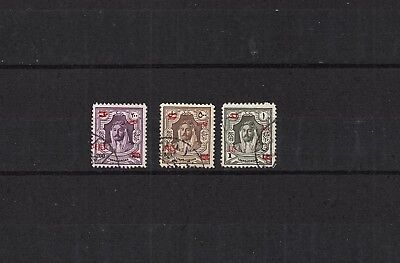 Jordan Selction Of Hcv Used Stamps Currency Overprint - Lot (Jor 425)