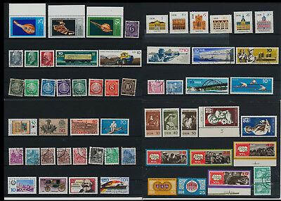 Stamps of Old Germany, DDR, Alliierte Besatzung, used,  great Lot (LM 23)