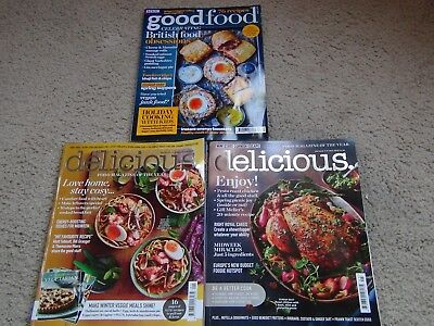 Delicious Food Magazine 31 January 2018~ 31 May 2018 And Bbc Goodfood April 2018
