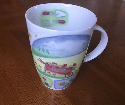 "Roy Kirkham Fine Bone China ""My Garden"" Mug"