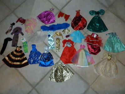 Authentic Barbie Fashion Fancy Dressy Ball Gown Holiday Gala Dress Lot