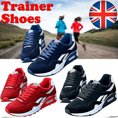 Mens Running Trainers Casual Lace Gym Walking Boys Sports Shoes Ladies Size Lot