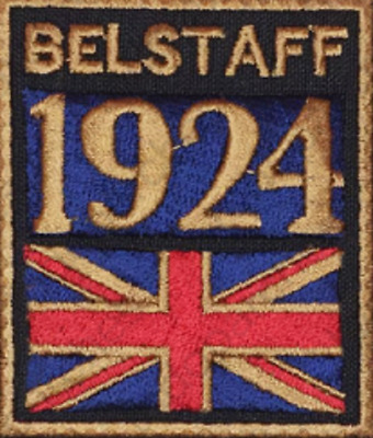 Gestickte Patch Embroidered Patch Iron Patch Parche Bordado Belstaff 1924