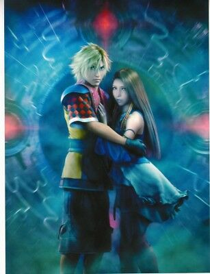 Final Fantasy X-2 Wallscroll