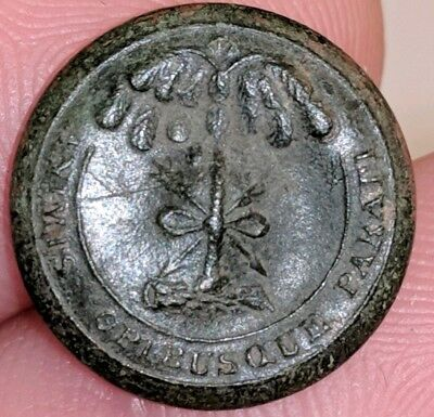 Dug South Carolina Sc Palmettobutton  / Civil War / Smith & Company Back Mark..