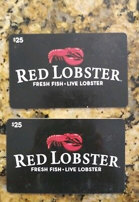 $50 Red Lobster Gift Cards