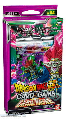 DragonBall Super Card Game - Colossal Warfare Special Pack Set :: Brand New And