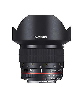 SAMYANG Single-Focus Wide-Angle Lens 14mm F2.8 Full Size for Canon EF FREE Ship