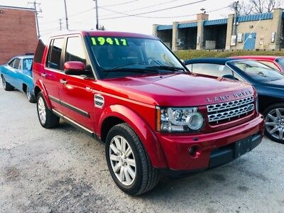 2012 LR4 -LUX HSE-4WD-WARRANTY-ONE OWNER-CLEAN REPORT-MSRP Firenze Red Land Rover LR4 with 98,423 Miles available now!