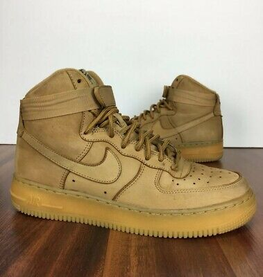 more photos e8caa ab36c Nike Air Force 1 Wheat Flax 6.5y Youth 807617-200 GS 07 AF1 Kids