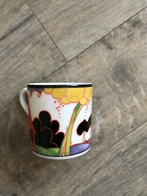 Limited Edition Clarice Cliff Wedgwood coffee cup and plate