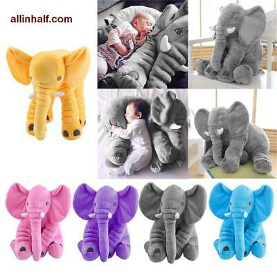 Large Plush Elephant Toy 33cm-60cm Sleeping Pillow for Baby and Kids