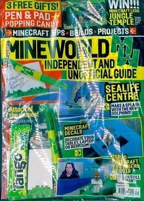 Mineworld Minecraft Magazine Issue 35 ~ New Sealed Pack ~