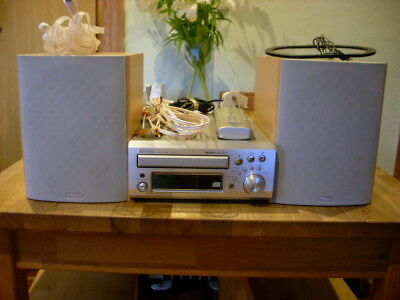 Denon UD-M31 CD/Receiver With Original Speakers and Remote Control.