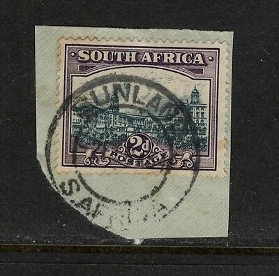 Union of South Africa Postmark Sunland Cape on small piece