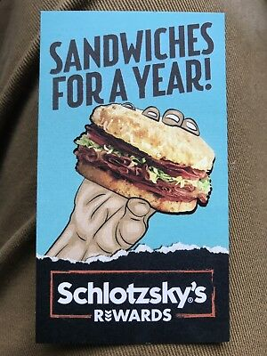 """Free """"Small Original"""" Schlotzskys For A Year"""