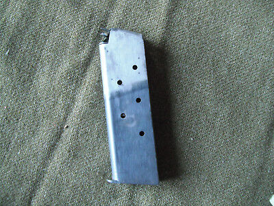 Rare ORIGINAL WW1 U.S. COLT 1911 7-SHOT .45 ACP MAGAZINE 2-TONE in GOOD SHAPE