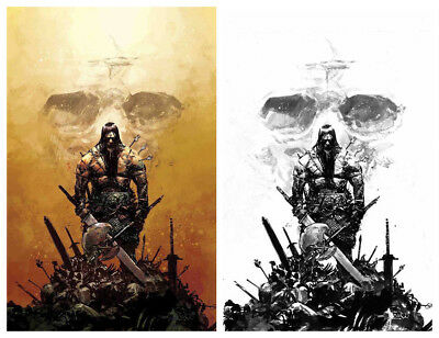CONAN THE BARBARIAN #1 Zaffino Virgin Variant Set Limited to ONLY 500 NM Marvel