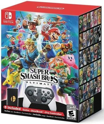 *New* *Sealed* - Super Smash Bros Ultimate Special Edition - Nintendo Switch