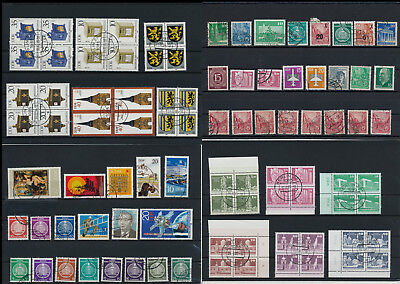 Stamps of Old Germany, DDR, Alliierte Besatzung, used,  great Lot (D 3)