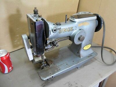 Singer Commercial Sewing Machine # W1184781, Used by a Sail Maker in N.J.