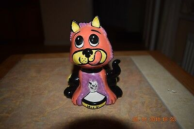"""Lorna Bailey Figurine """" Scrumptious the Cat """" Limited Edition 14/50"""
