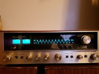 Vintage Sansui 5050 AM FM Phono Tape Aux Stereo Receiver TESTED WORKING