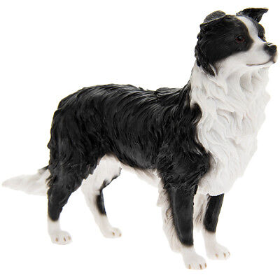 Leonardo Border Collie Figurine Dog Ornament Gift Boxed by Leonardo