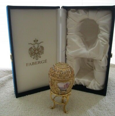 BOXED Faberge The Imperial Peter the Great EASTER Egg ! NO RESERVE !