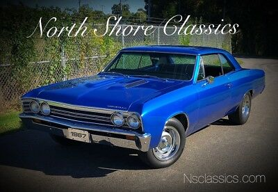 1967 Chevelle -NEW PAINT-FRESH ENGINE-RELIABLE MUSCLE CAR-SEE VI 1967 Chevrolet Chevelle, Blue with 77,948 Miles available now!