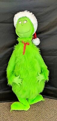 """RARE Dr Suess Grinch That Stole Christmas 44"""" Halmark Collectable 1998"""