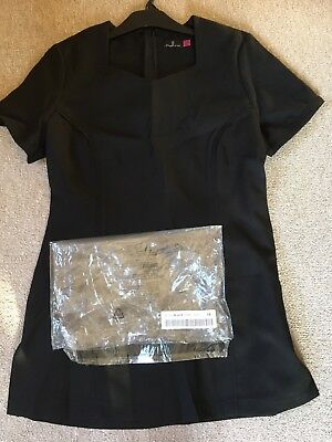 Brand new in packaging  Hairdressing/Beauty tunic uniform size 10