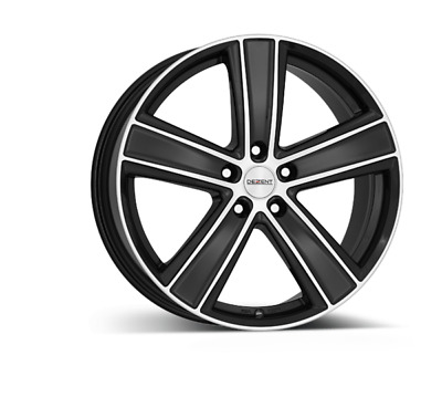 4 alloy rims 7.5x17 DEZENT TH dark for FORD Transit Connect > 2013