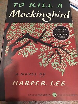 To kill a mockingbird paperback by Harper lee