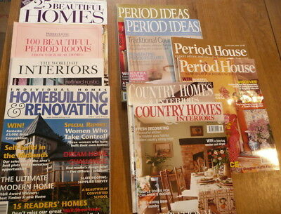 10 Interiors Magazines, Homebuilding and Renovation, Period House, Period Ideas