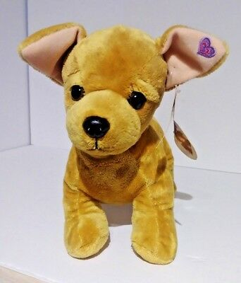 """Chihuahua puppy dog stuffed animal plush 16"""" I Love This Much New with tags"""