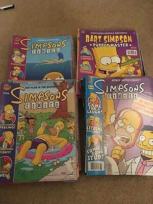 Simpsons bundle 2003-2008 58 comics