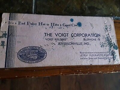 The Voigt Corporation, Jeffersonville, Indiana.  Aetna Insurance Company.