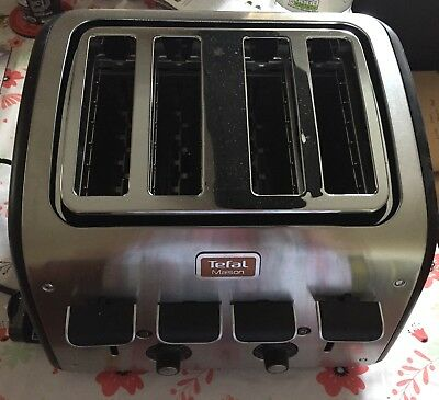 Tefal Maison Chalkboard Black Toaster New With Two Small Dents On Top Due To Sto