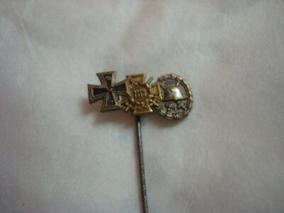 Orginal Imperial German Prussian 3 Place Stick Pin