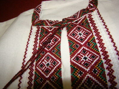 NEW Ukrainian handmade  embroidered men's shirt #5